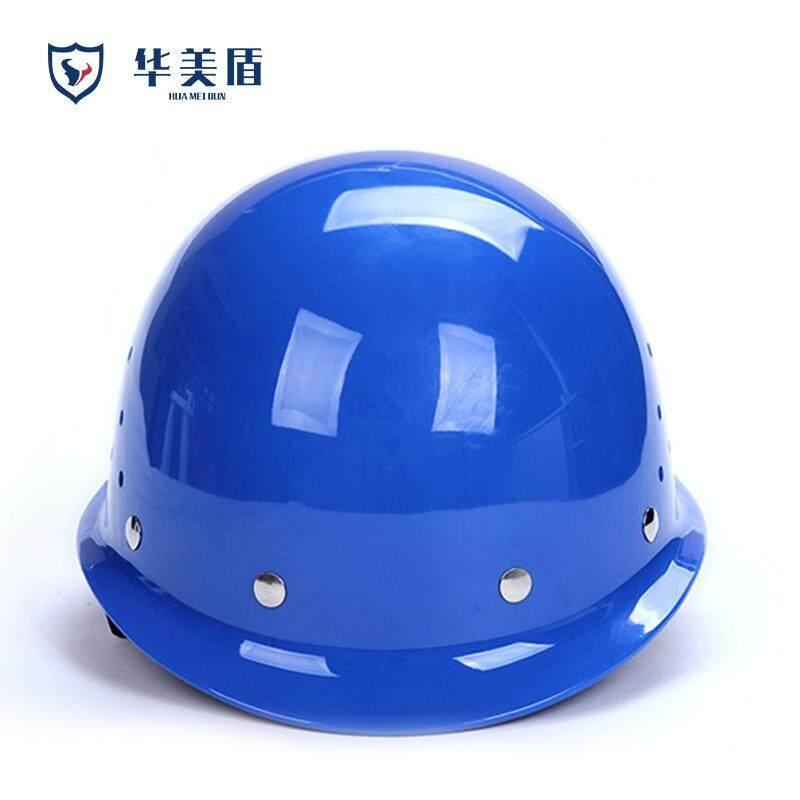 High-strength breathable construction hat helmet