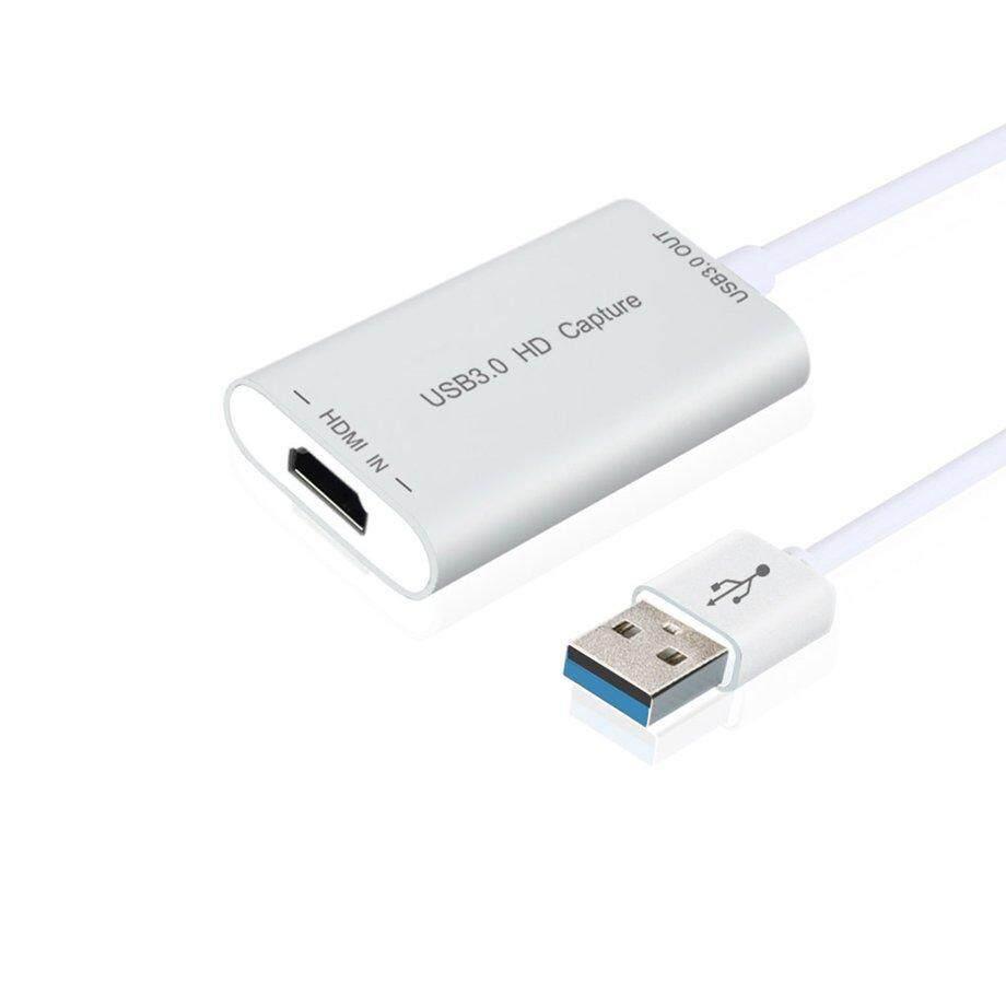 Era Kecepatan Tinggi USB3.0 HD Capture USB 3.0 untuk Adaptor HDMI Video Capture Device-Intl