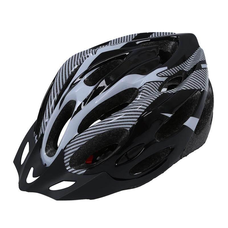 Hitam Abu-abu Helm Sepeda Helm Sepeda Gunung untuk Pria Wanita Muda Baru-Internasional