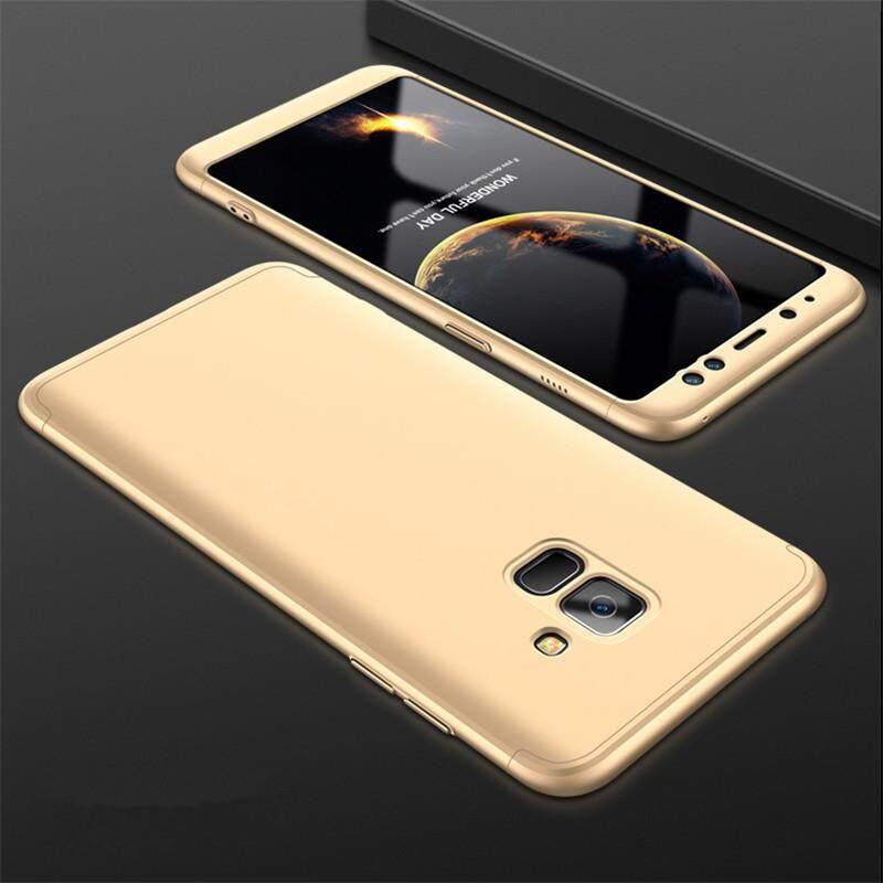 For Samsung Galaxy A8 Plus 2018 Full Protection Hard Case Ultra Thin 3 in 1 Matte
