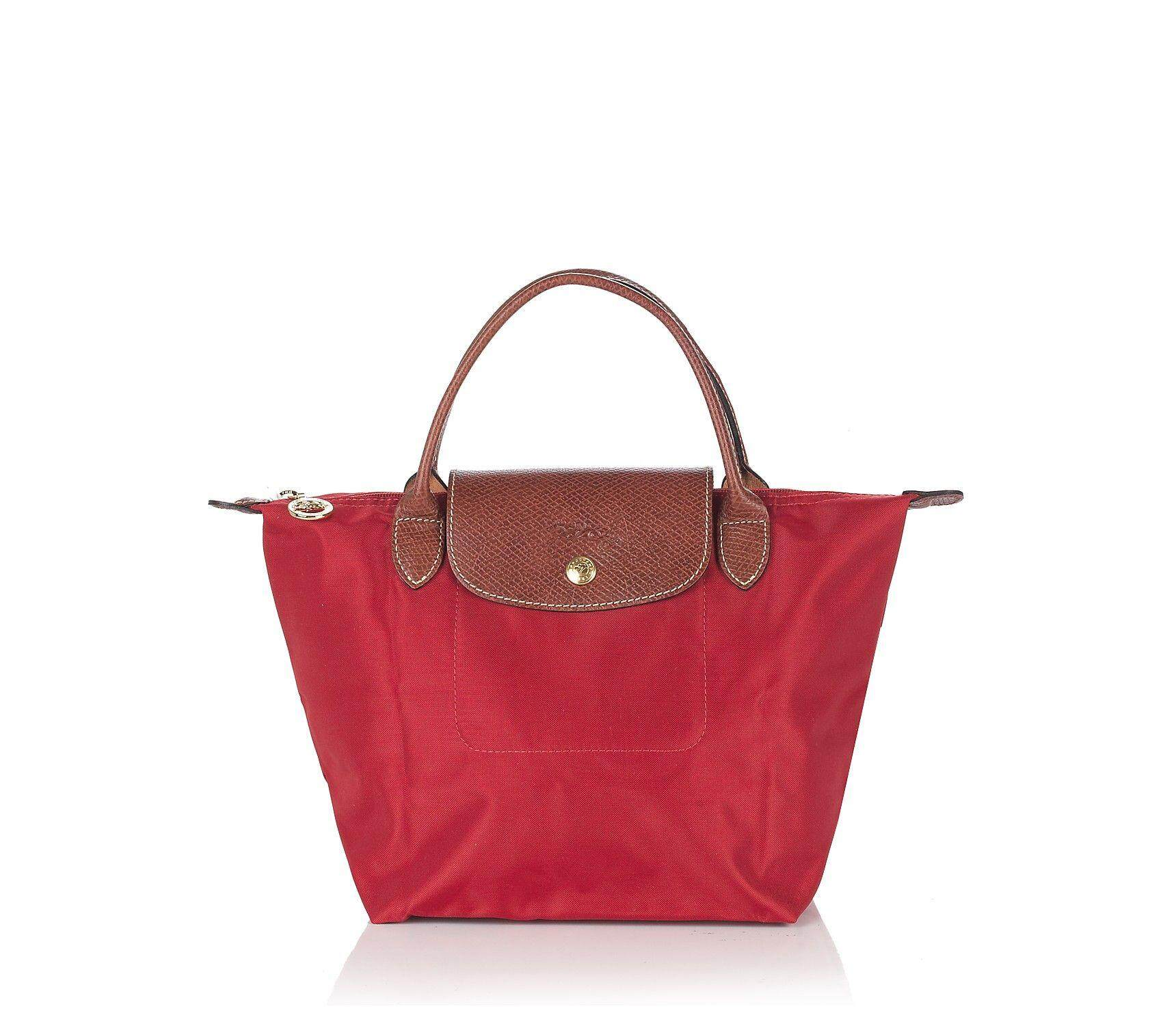 d1aa18aef9c4 LONGCHAMP LE PLIAGE Tote Bag Small - Red (2605089-545)