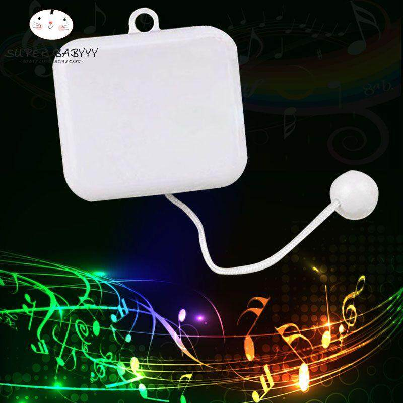 Hình ảnh SBY Pull String Cord Rope Music Box Baby Crib Bed Bell Kid Toy Movement DIY Unusual Musica Gifts Home Decor