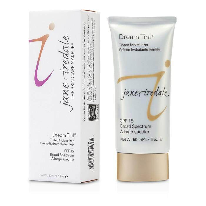Jane Iredale Dream Tint Tinted Moisturizer Spf Peach Brightener 50ml By Strawberrynet Sg.