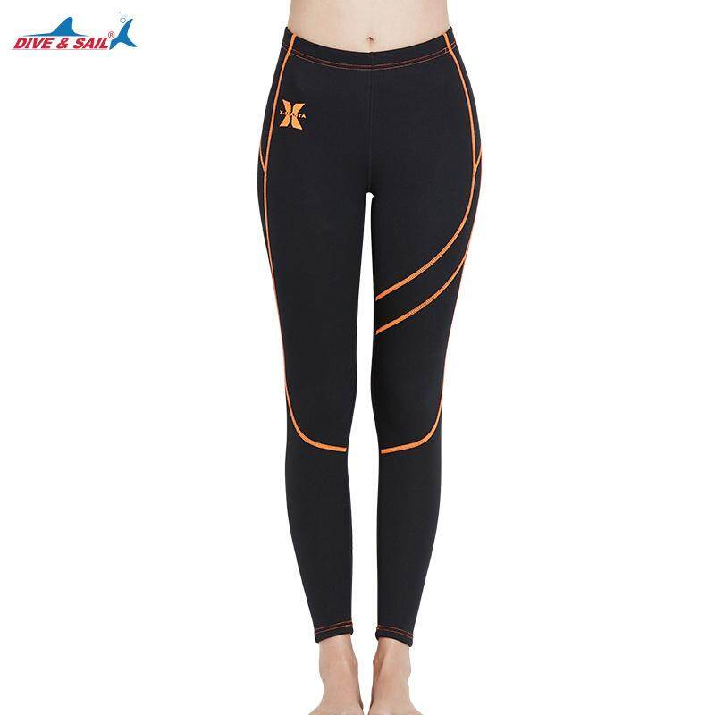 DIVE SAIL 1.5mm Neoprene Women Diving Pants Winter Keep Warm Snorkeling  Wetsuit Scuba Diving Trouser Yoga 2f960ca78