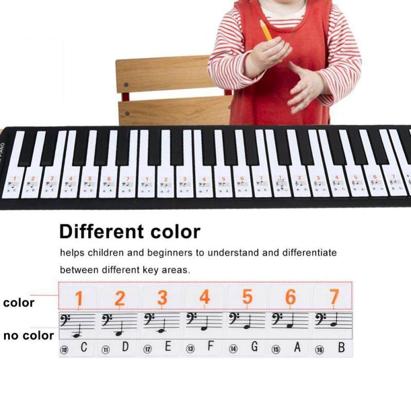Transparent Removable Piano Key Board Sticker for 61/88 Key Electronic Pianos Malaysia
