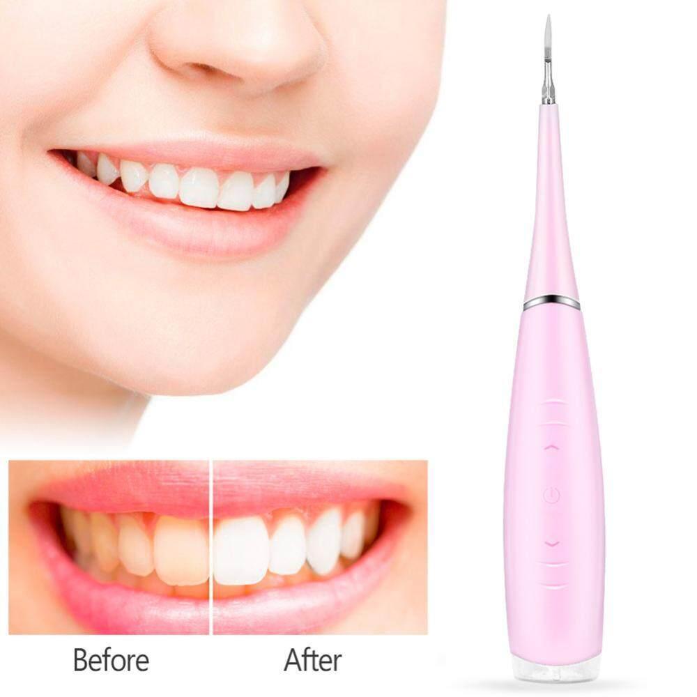 Portable Pengalir Mulut Elektrik Pembersih Gigi Irigasi Gigi Kalkulus Penghilang Karang Gigi Bersih-Internasional By Eleganthome.