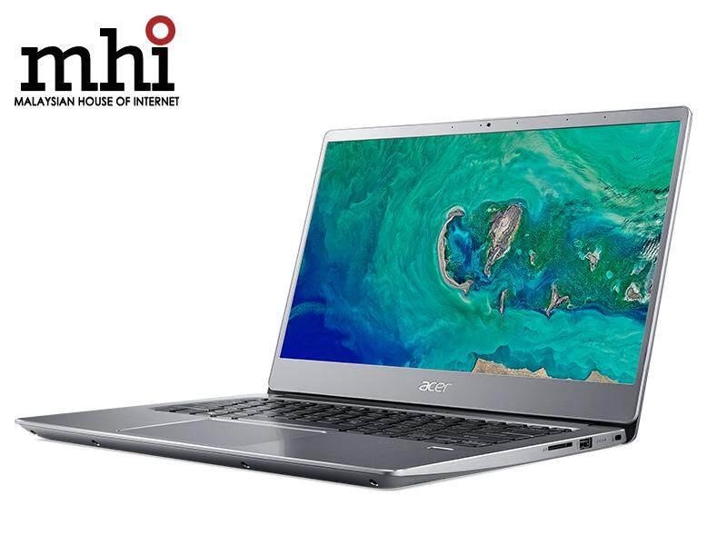 Acer Swift 3 SF314-54G-82HF FHD IPS Laptop Silver (I7-8550U, 4GB, 128GB + 1TB, MX150 2GB, W10)