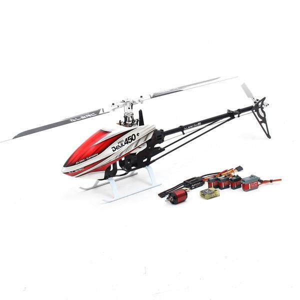 Alzrc DEVIL 450 Pro V2 SDC DFC Helikopter RC Super Combo