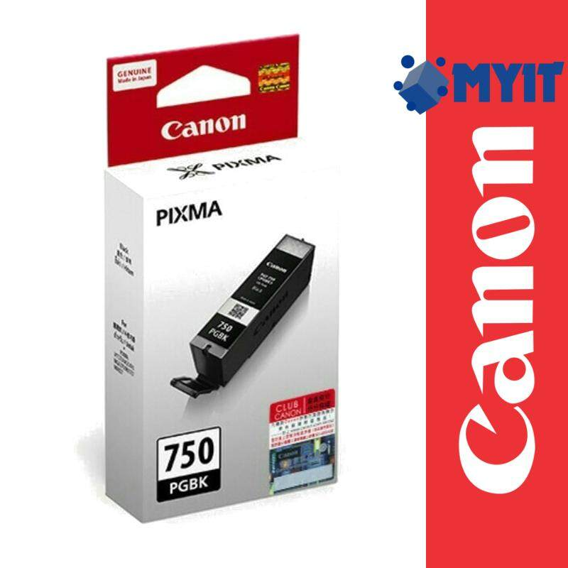 Canon Original PGI-750 Black Ink Tank Cartridge for iP7270 iP8770 iX6770 iX6870 MG5470 MG5570 MG5670 MG6370 MG6470 MG6670 MG7170 MG7570 MX727 MX927 PG750 PG-750 PGI750