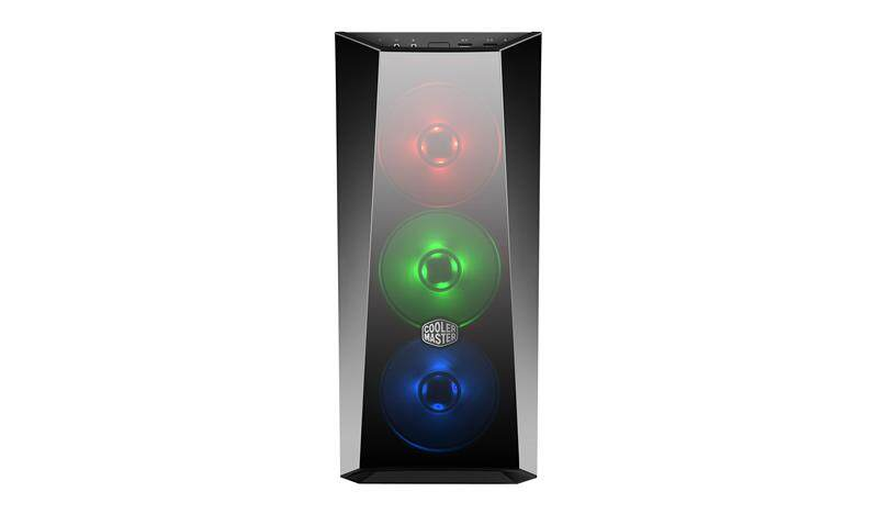 Cooler Master MasterBox Lite 5 RGB Fan ATX Gaming Case with Tempered Glass Side Panel Malaysia