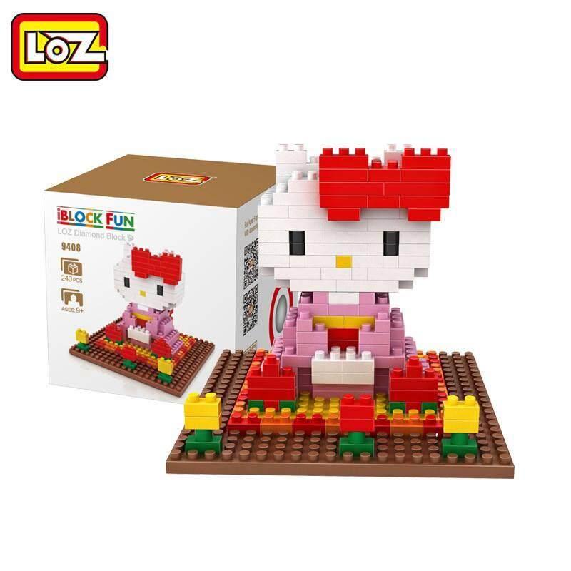LOZ DIY Hello Kitty Nanoblock Puzzle 4