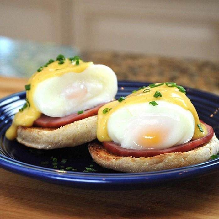 HARD-BOILED EGGS WITHOUT SHELL SILCONE EGGLETTES