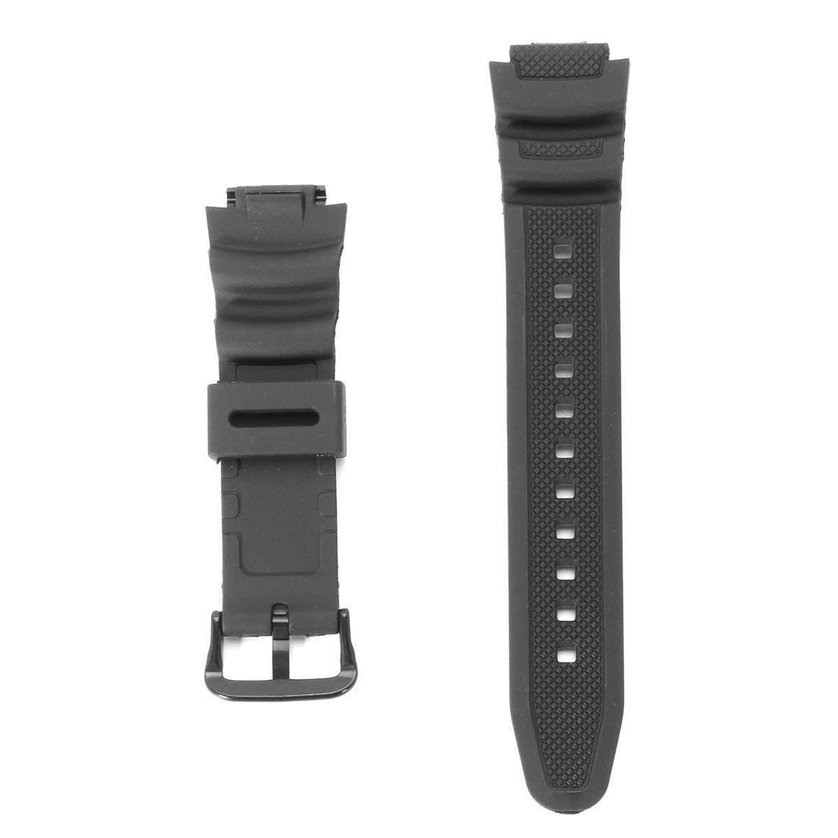 Replacement Black Wrist Band Strap For CA SIO Watch AQ-S810W SGW-300H SGW-400H
