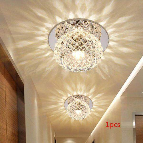 Đèn LED Trần Pha Lê Nhân Tạo 5W Đèn Treo Cố Định Đèn Chùm