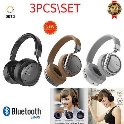 3 Pcs Oqto Baru PLEXTONE BT270 Wireless Hi Fi Headphone Handsfree Headphone Bluetooth Alat Pendengar Bass