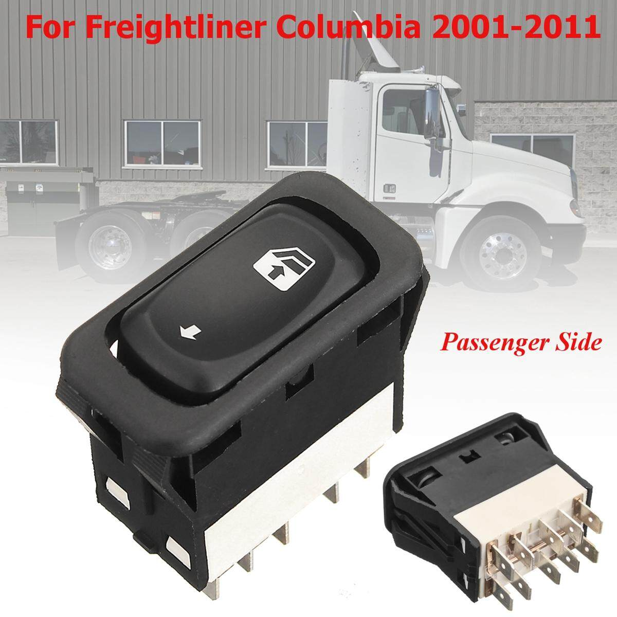 Passenger Side ABS Electric Window Switch For Freightliner Columbia 2001-2011 - intl