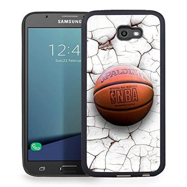 Smartphone Cases Cases Samsung Galaxy J7 2017 Case, J7 Prime, J7 2017(AT&T), J7 Sky Pro, J7 Perx case TPU Rubber Gel Design for Samsung Galaxy J7 V 2017 - Crack Pattern Basketball - intl