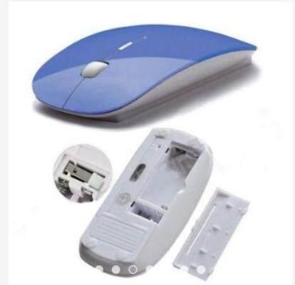 Ultra Thin USB Optical Wireless 2.4G Mouse
