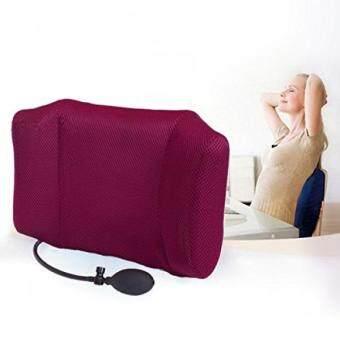 Harga Penawaran Tcare Portabel Inflatable Bantal Penopang Pinggang/Bantal Pijat-Ortopedi Desain untuk Pereda