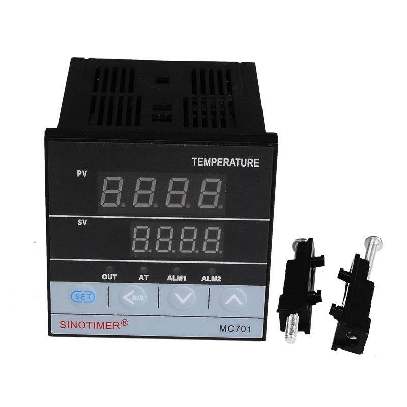 MC701 72*72mm Universal Input Digital PID Temperature Controller Regulator SSR Relay Output for Heating or Cooling with Alarm Fahrenheit