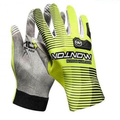 MONTON LONG FINGER CYCLING GLOVES PRO SCITELL GREEN