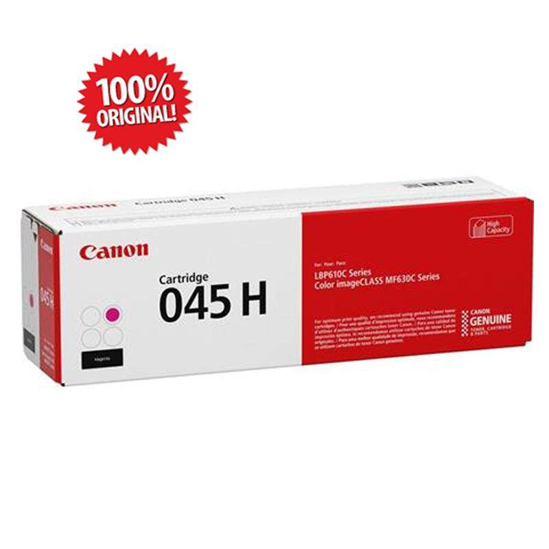 Original CANON CART 045H Cartridge 045H BK Black High Cap 2.8K for imageCLASS MF631Cn/MF633Cdw/MF635Cx