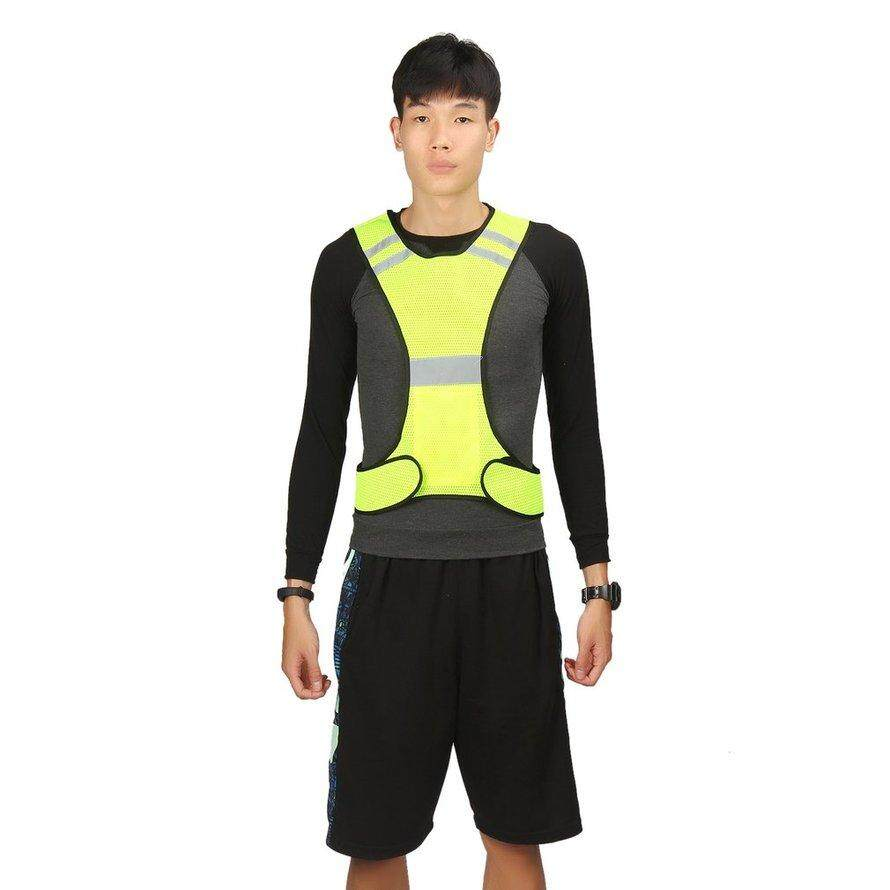 Osman Thin Breathable Night Running Cycling Led Safety Security Reflective Vest By Osmanthus.