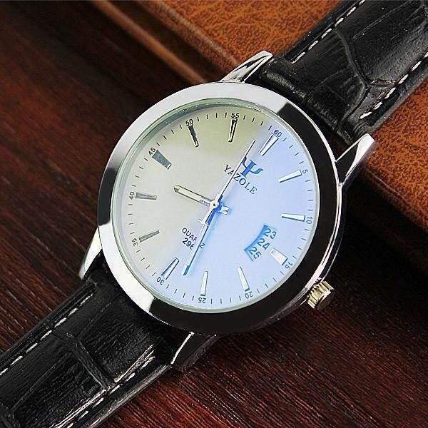 YAZA 296 Men's Business Calendar Luminous Waterproof Quartz Watch - intl