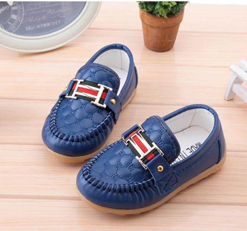Anak-anak Peas Sepatu Sepatu Anak Anak Tendon Lembut Anti Selip Sepatu Bayi Longgar-Internasional - 3