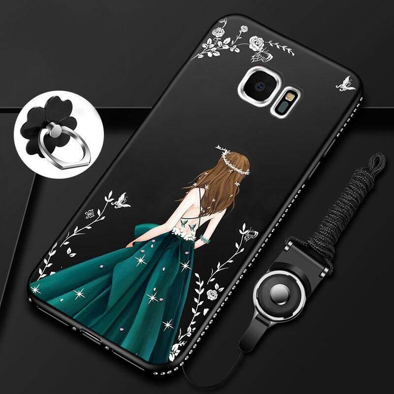 For Samsung Galaxy Note 5 Luxury 3D Soft Plastic Case Coque Silicon Glitter Rhinestone Cover