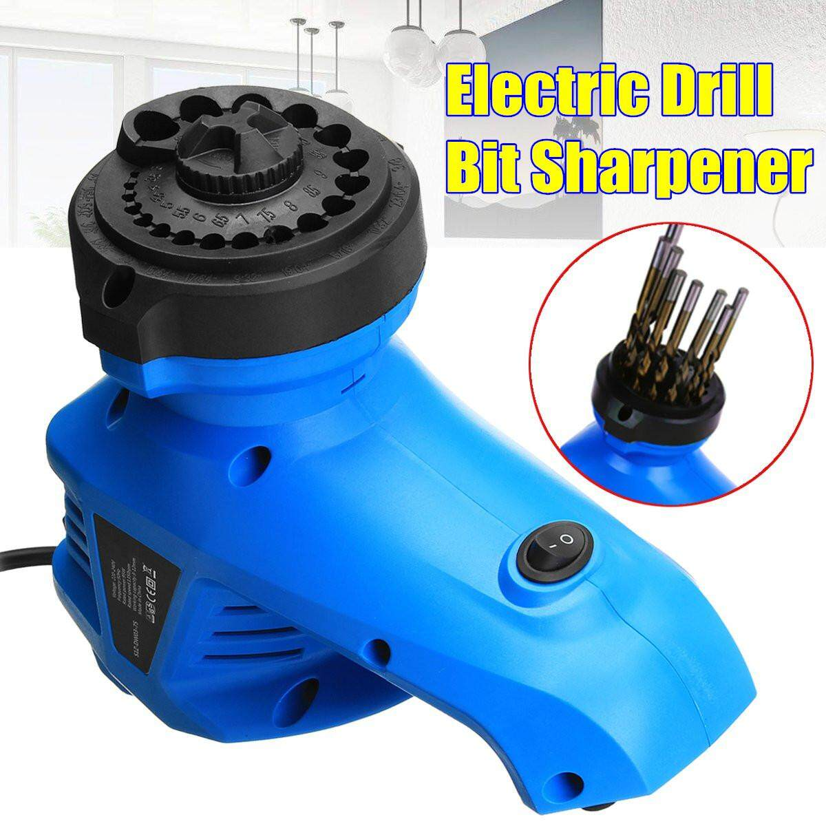 Electric Multi Tool Grinding Machine Twist Drill Bit Sharpener Grinder - intl