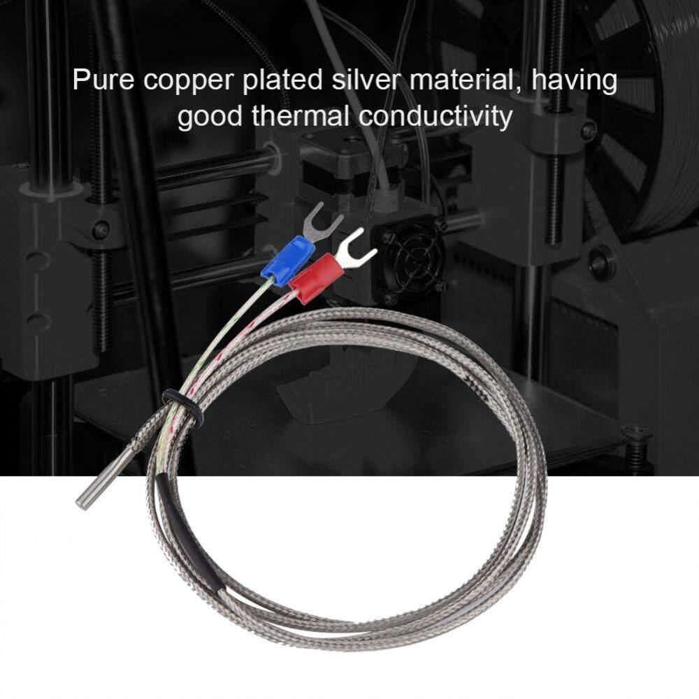 Thermocouple Temperature Sensor 3x15x1000mm K Type Thermocouple Temperature Sensor Probe for 3D printer intl