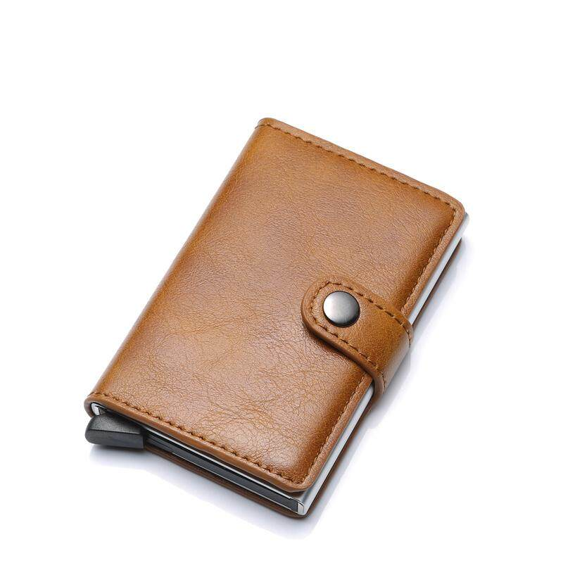 0d921363fc97 Rfid Card Holder Men Wallets Money Bag Male Vintage Secrid Short Purse 2018  Small Leather Smart