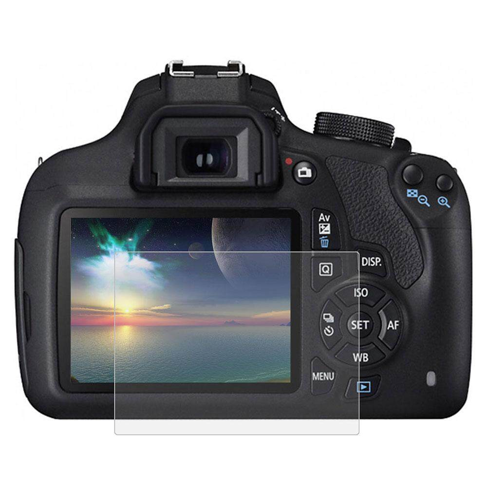Kurry store free shipping PULUZ SLR Camera Film Durable Tempered Glass 9H Anti Fingerprint Accessories for Canon 1200D / 1300D - intl