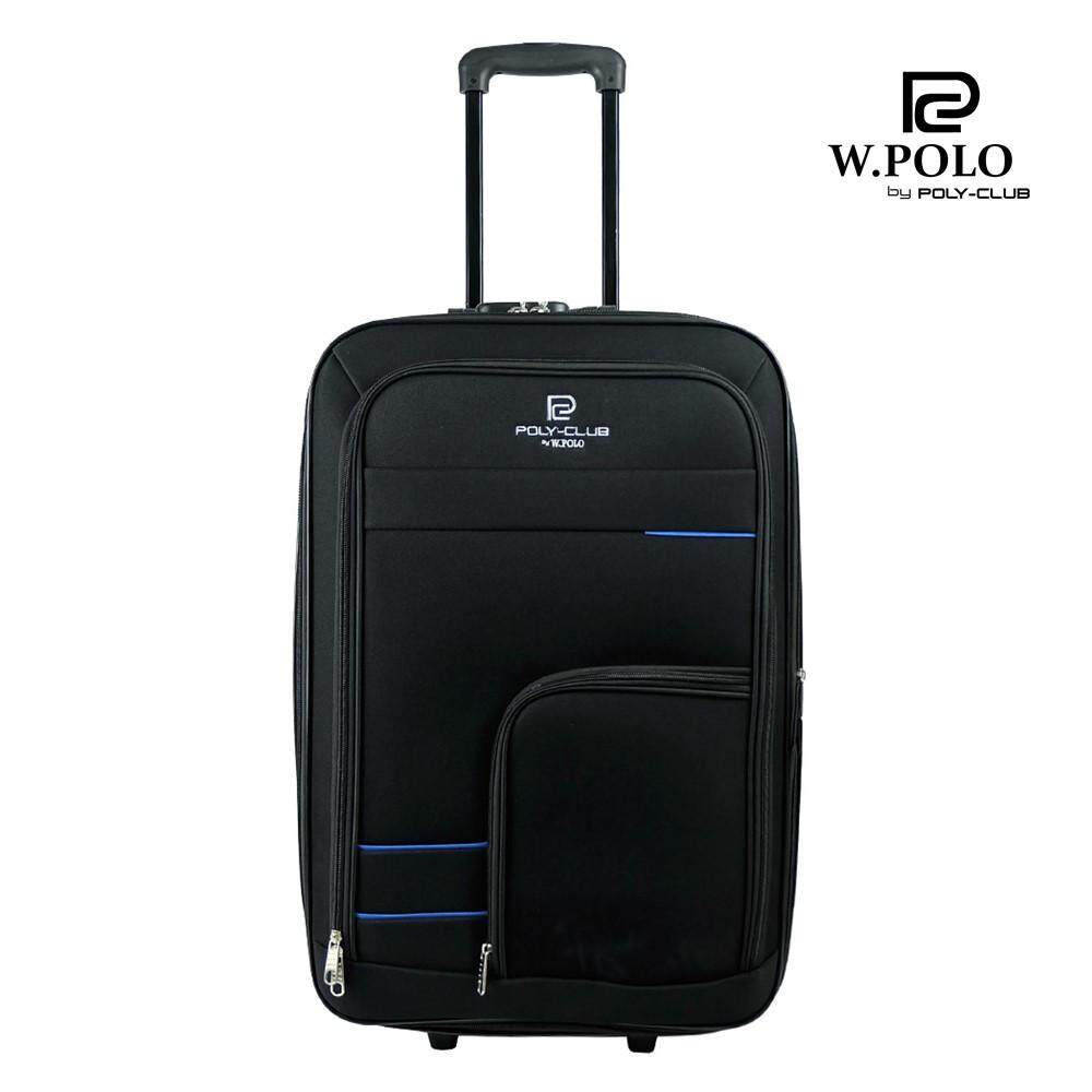 699b2d81802 W.POLO BE1814 28 inch 2 Wheels Expandable Soft case Trolley ...