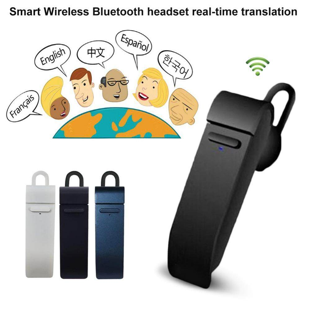 Zzooi Intelligent Wireless Bluetooth Earphone Smart Real-time 16 Languages Translation For Business/travel Use Mobile Phone Earbuds