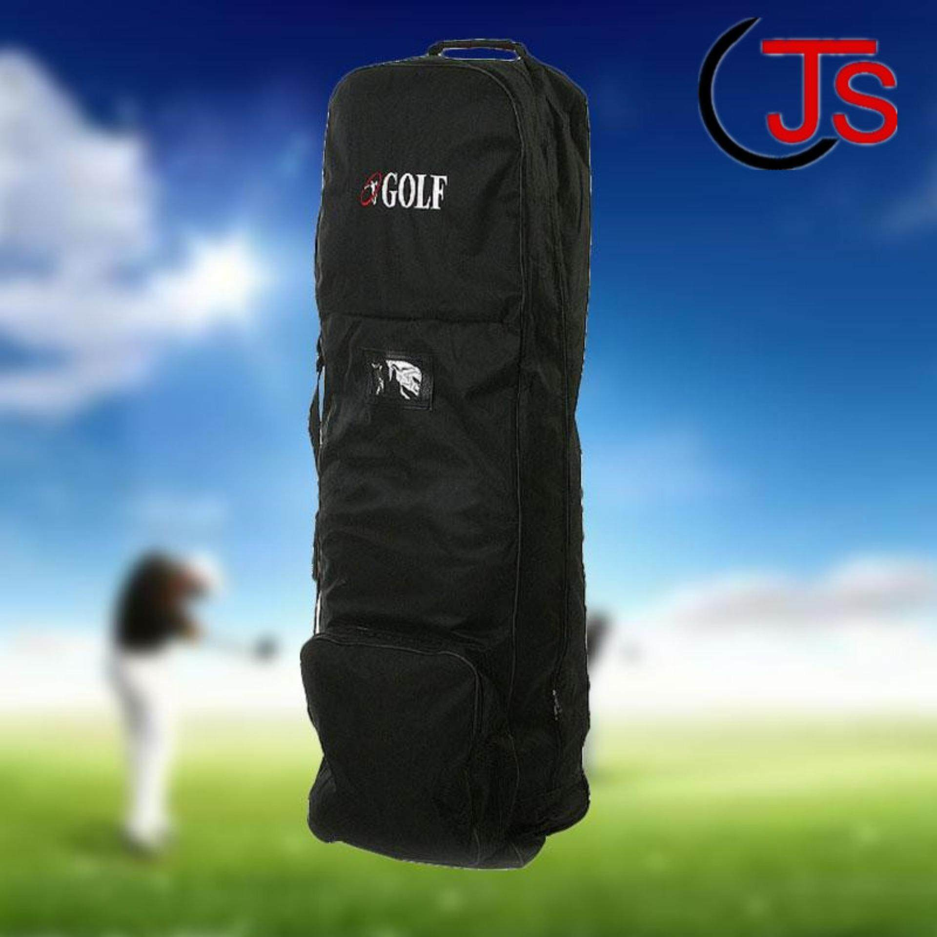 Flight Travel Golf Bag Protective Carrying Coverall Cases Carrier With Wheels By Tsujiu Store.