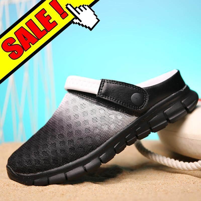 Yealon Musim Panas Sandal Jaring Sandal untuk Sandal Pria untuk Wanita Sepatu Kets Sepatu Datar untuk Pria Ringan Sepatu Slip-on Wanita Sepatu Kasual untuk ...