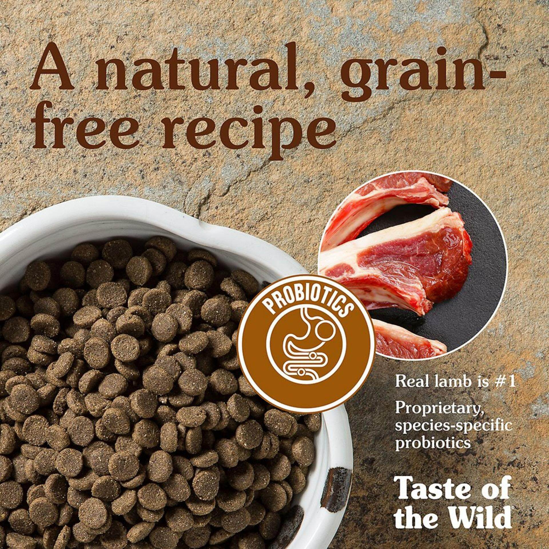 Taste Of The Wild - Sierra Mountain Canine Formula with Roasted Lamb 13kg