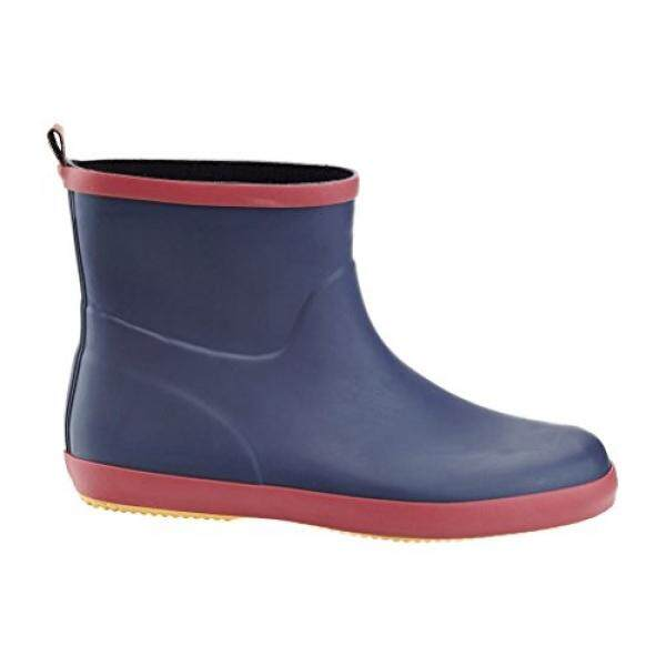 Solo Mens Ever Dry Low Cut Rubber Water Resistant Rain Boot Blue 12 - intl