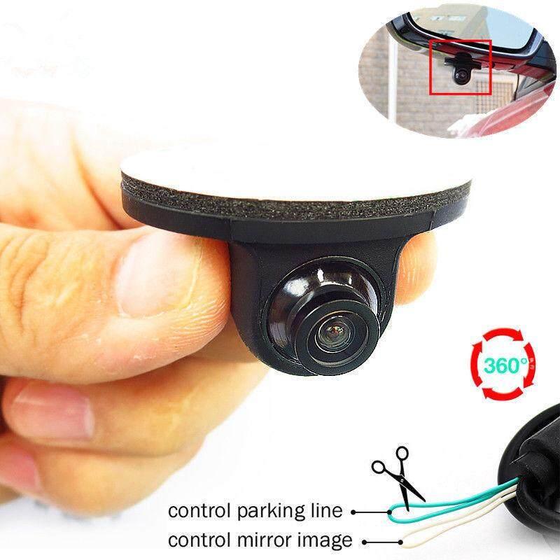 Mini Hd การมองเห็นได้ในเวลากลางคืน 360 ° รถด้านหลังด้านหน้าด้านข้างดูกล้องสำรอง 12 V By Ishowmall.