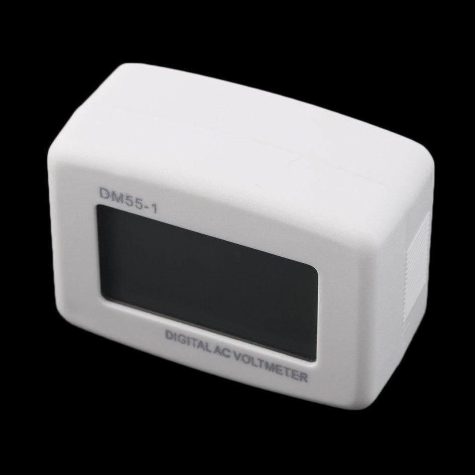 Oh AC 80-300 V Tegangan Digital LCD Meteran Pengukur Tegangan Volt Kami Pena Steker