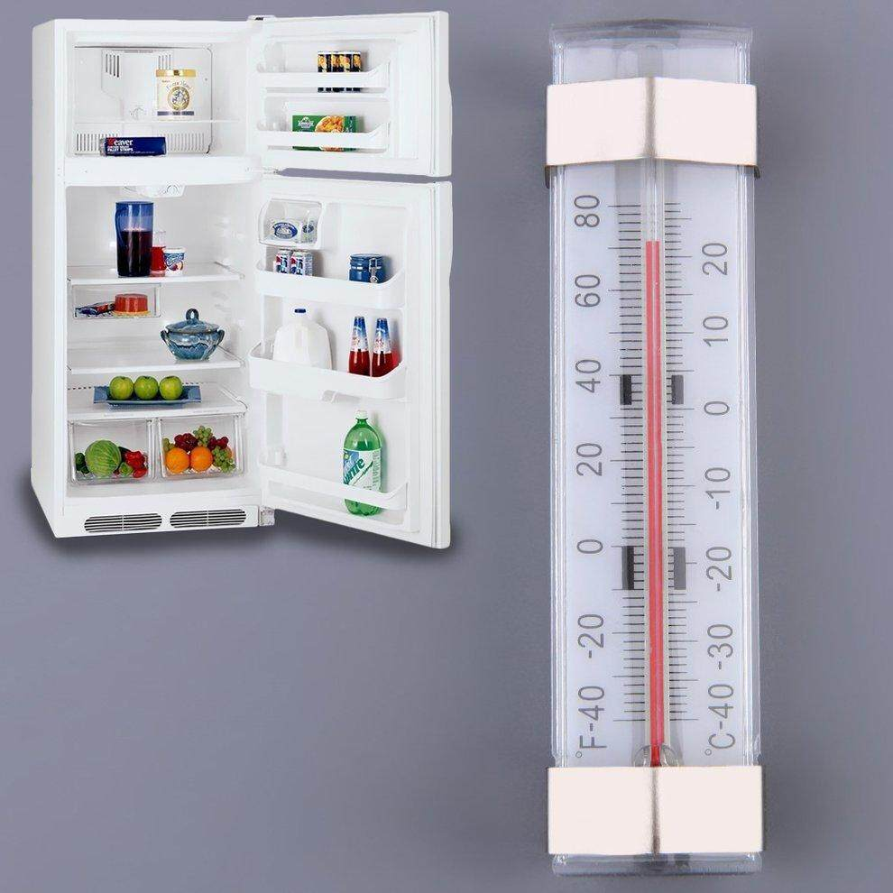 Kitchen Shelf Hanging Fridge Freezer Traditional Temperature Thermometer - intl