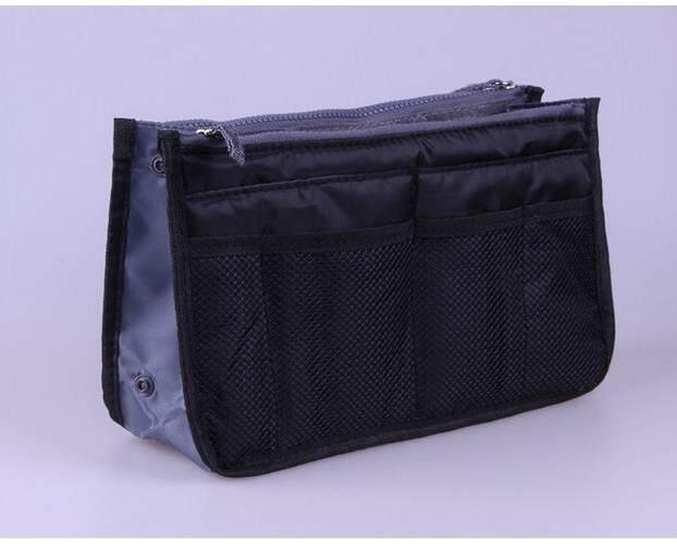 Versi Korea Portable Multifungsi Tas Ritsleting Ganda Tas Peralatan Mandi Tas Tas Dalam Menyelesaikan Finishing
