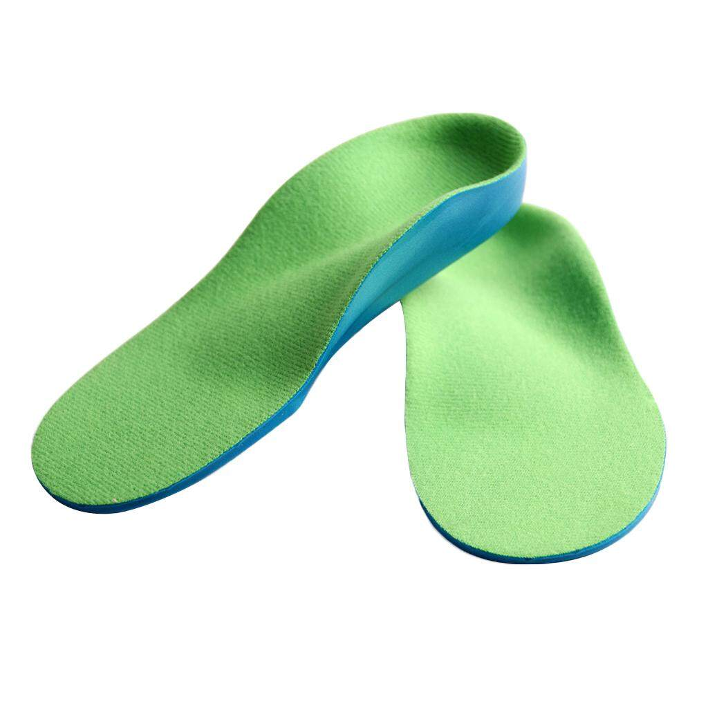 Hình ảnh MagiDeal Kids Flat Feet Orthotic Sports Shoes Insoles Arch Support Inserts 16cm - intl