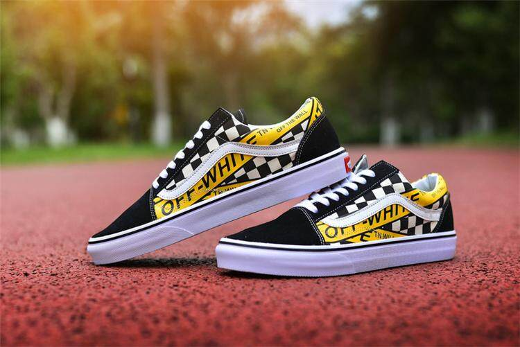 c5356526e608 Vans Official Skate Shoes High Quality Vans x Off-White Old Skool 36 WOMEN  EU