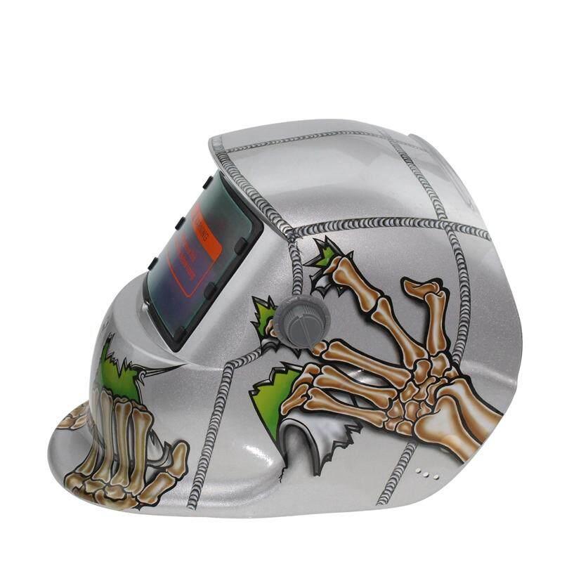 2018 Baru Pro Solar Masker Las Otomatis Gelap Helm Las Hantu Tangan-Intl