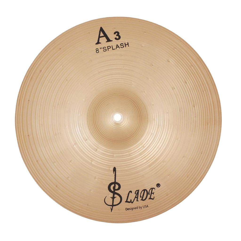 Miracle Shining SLADE Phosphorus Copper Brass Crash Cymbal Hi Hat Cymbals for Drummer 12inch
