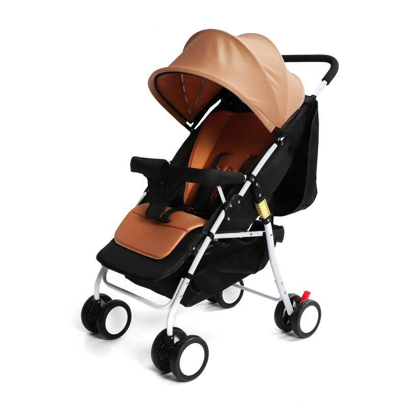 Portable Foldable Baby Stroller Compact Lightweight Pram Travel Carry-on Plane - intl Singapore