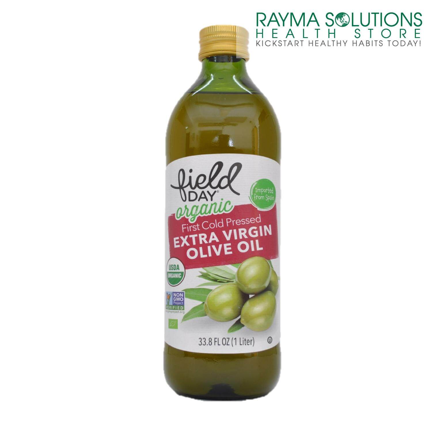 FIELD DAY ORGANIC First Cold Pressed Extra Virgin Olive Oil 1L